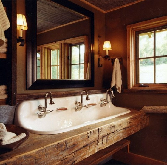 Rustic Bathroom Ideas Would You Set Up Your Bathroom In A Country Style Interior Design