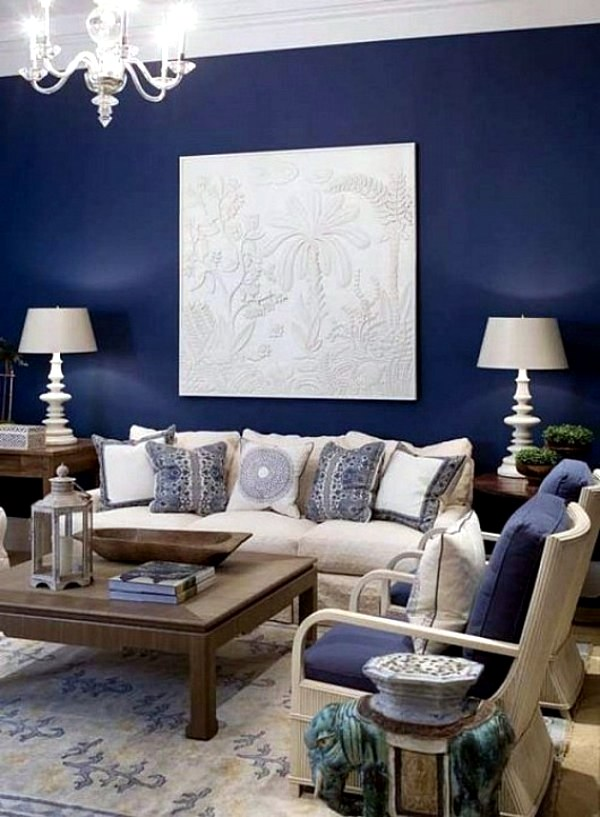 Wall Decoration With Colour : Wall colors for living room trendy interior design
