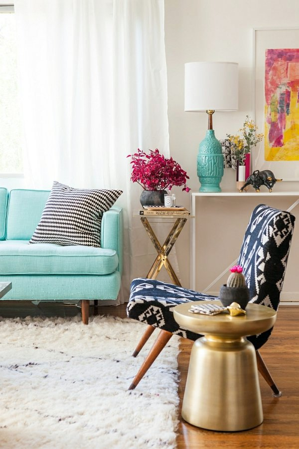 Side Table Living Room Decorating Ideas